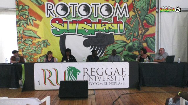 PRODUCTION SOMETHING. The current state of reggae music industry @ Reggae University 2018