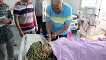 محافظ المنوفية يتفقد مستشفى شبين الكوم التعليمى