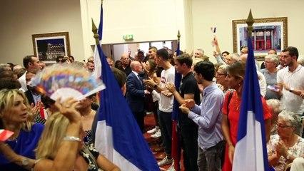 """Meeting 30/08/2018 Nice """"Je veut refaire des Républicains une grande formation politique"""""""