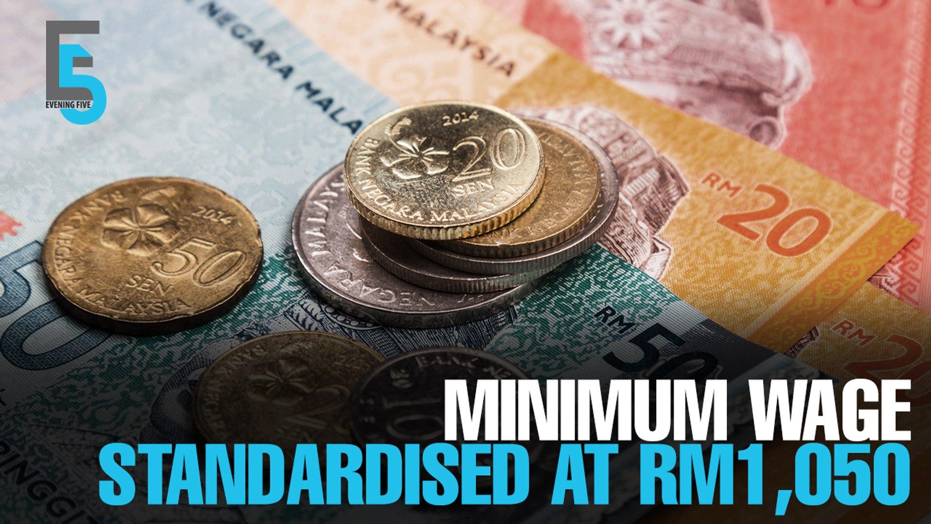EVENING 5: Standardised minimum wage in 2019