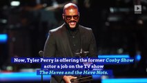 Tyler Perry Offers Geoffrey Owens From 'Cosby Show' a Job
