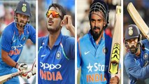 Asia Cup 2018: 4 Indian Players whose Career depend On Asia Cup performance | वनइंडिया हिंदी