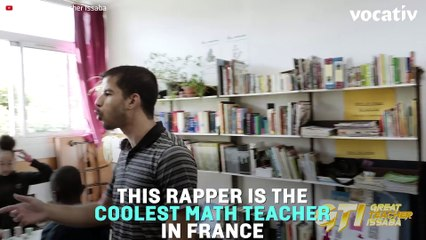Great Teacher Issaba, the French Teacher Who is Rapping the Math Theorems