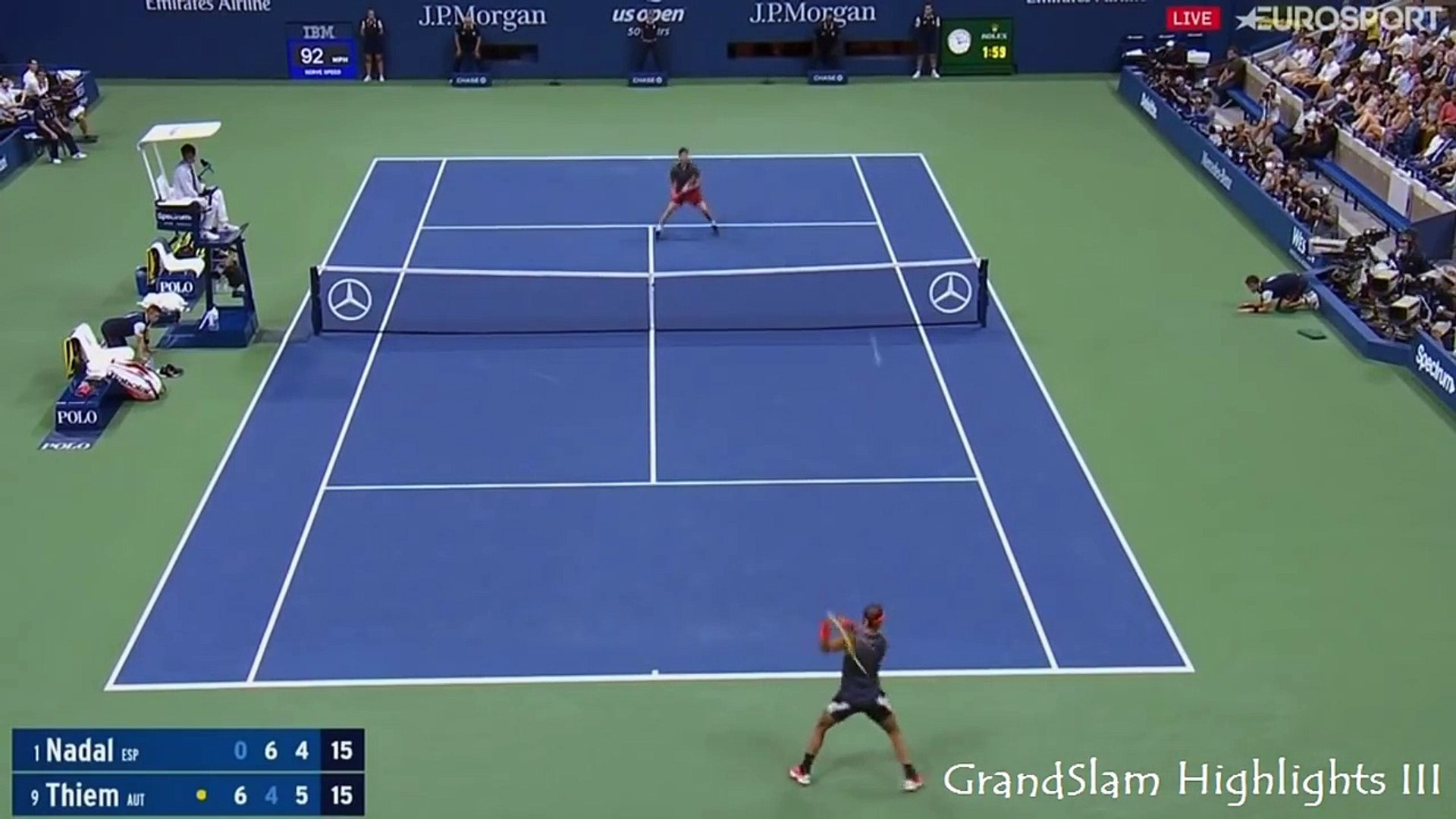 Rafael Nadal Dominic Thiem One Of The Best Matches Of The Year Dailymotion Video