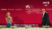 A movie about Steve Bannon presented at Venice Film Festival