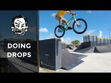 How to do drops on a trials bike - MTB Trials for beginners