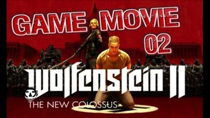 WOLFENSTEIN 2: The New Colossus - Game Movie Deutsch - Part 02