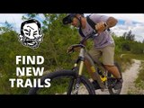 Finding new MTB trails