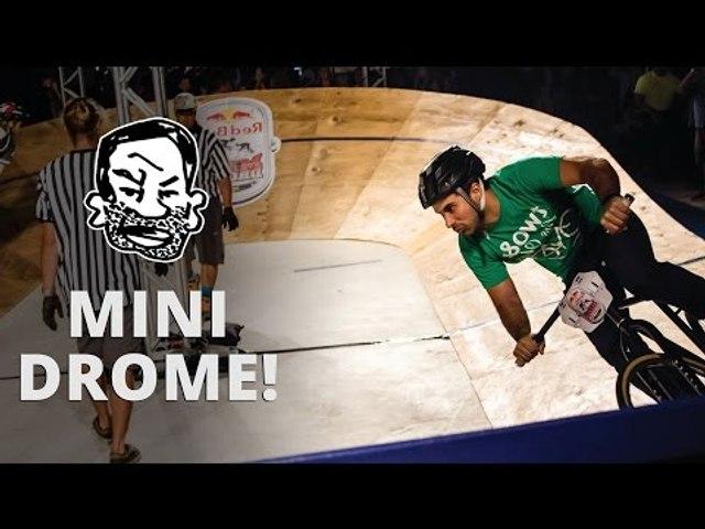 Crashing at RedBull Minidrome - Cycle Stories EP1