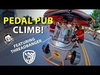 The Pedal Pub Enduro, Featuring Threadbanger