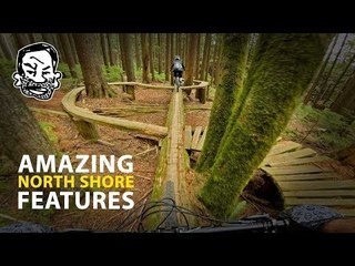 Riding Insane North Shore MTB features | Featuring Jordan Boostmaster