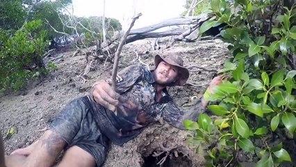Un homme capture une créature énorme en Australie