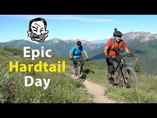 Epic First Ride on my Hardtail with Eric Porter