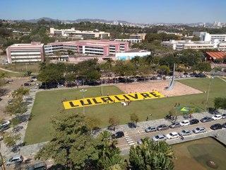 Lulaço no campus da UFMG