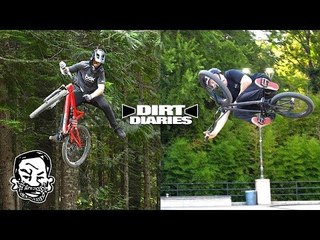 BMXer Rides Whistler | Crankworx Dirt Diaries 2018 | A Bigger Swing Set