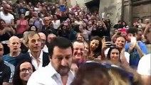 Salvini kiment az olasz nép közé - Ez történt