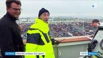 Le Havre : dans les coulisses d'un porte-conteneur géant