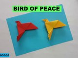 BIRD OF PEACE ORIGAMICOOL ORIGAMI BIRD OF PEACE ORIGAMICOOL EASY TUTORIALS HOW TO MAKE PAPER BIRD OF PEACE BIRD OF PEACE ORIGAMI TUTORIAL FACIL COMO HACER UN ORIGAMI DE PALOMA DE LA PAZ