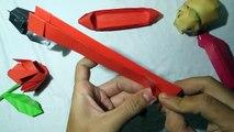 DIY boat handmade boat origami boat Bateau origami bateau bateau à la main