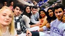 Priyanka Chopra, Nick Jonas At U.S. Open 2018 With Gigi Hadid, Bella Hadid, Joe Jonas, Sophie Turner