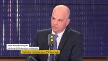 """Dédoublement de certaines classes  :""""On n'a pas déshabillé Pierre pour habiller Paul, nous avons dégagé les moyens nécessaires"""", assure Jean-Michel Blanquer"""