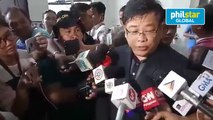 Lawyer Reynaldo Robles says his client, Sen, Trillanes, is being targeted by administration
