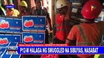 P12-M halaga ng smuggled na sibuyas, nasabat