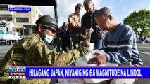 GLOBALITA: Hilagang Japan, niyanig ng 6.6 magnitude na lindol; 50 patay sa kaguluhan sa Tripoli Libya; Robotic surgery, ginagamit na sa United Kingdom