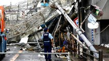 Deadly earthquake strikes Japan amid Typhoon Jebi disaster