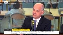 """Fin de l'accord du participe passé: """"Il faut se calmer sur les simplifications de la langue française"""", lance le ministre de l'Éducation"""