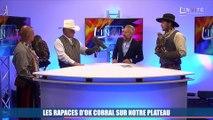 Vidéo : les rapaces d'OK Corral investissent le plateau de La Provence