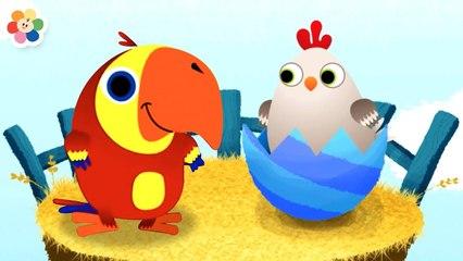 Vocabu-Larry-o Descubre Animalitos en Huevos Sorpresa | BabyFirst Español