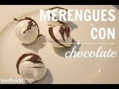 Merengues con Chocolate