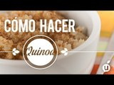 Cómo preparar quinoa | Receta de quinoa | Cómo hacer quinoa