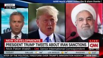 BREAKING NEWS U S SANCTIONS AGAINST IRAN GO INTO EFFECT. CNN NEWS