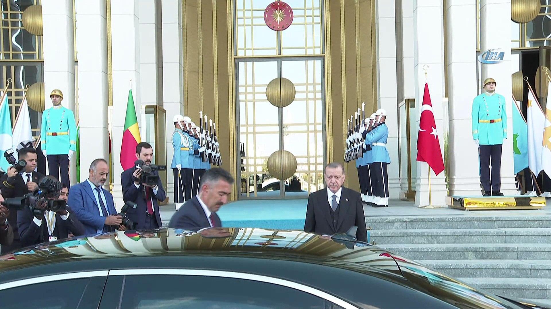 - Erdoğan-Talon görüşmesi başladı