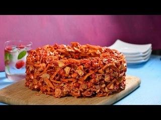 Rosca de Cazares con Chamoy | Cómo hacer una botana de cazares y churritos crujiente