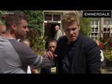 Emmerdale Soap Scoop: DI Bails attacked! Robert collapses! (Week 37)
