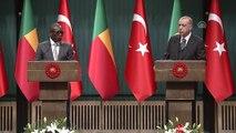 Erdoğan-Talon ortak basın toplantısı - Talon (2) - ANKARA