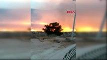 Mersin Silifke'de Çalılık Yangını