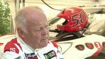 Hervé Knapick, 71 ans et conducteur de rallye cross