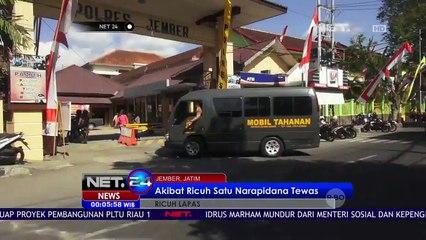 Akibat Kericuhan Dalam Lapas, Napi Dievakuasi Dari Lapas Jember - NET 24