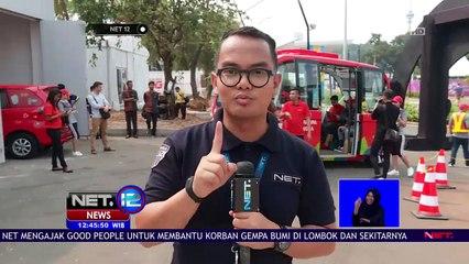 Mengintip Kecanggihan Bus Tanpa Sopir Asian Games-NET12