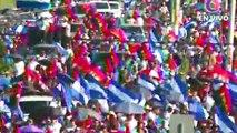 #LIVE  El pueblo grita ''justicia y paz'' son miles los que exigen justicia para las victimas del terrorismo golpista. #NicaraguaQuierePaz