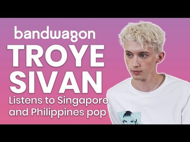 Troye Sivan reacts to pop music from Singapore and Philippines   Bandwagon Taste-Test