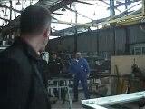 Ségolene ROYAL visite VIAS SA à chatellerault