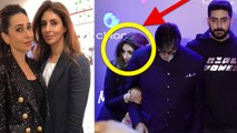 Abhishek Bachchan's ex-girlfriend Karishma Kapoor bonding with Shweta Bachchan Nanda | FilmiBeat