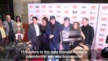 Michael Moore presents 'Fahrenheit 11/9' at film festival