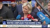"""Licenciements au Rassemblement national? """"Si nous récupérons notre dotation, il n'y a pas de raisons de prendre des mesures de ce type"""", dit Marine Le Pen"""