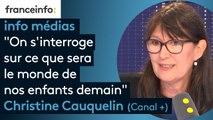 """Canal+ : """"On a développé une série avec le magazine We Demain, on s'interroge sur ce que sera le monde de nos enfants demain"""""""